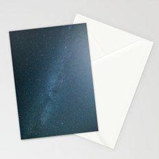 Milky Way Blue Stationery Cards
