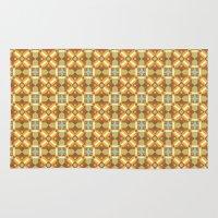 Ethnic Moroccan Motifs Seamless Pattern 6 Rug