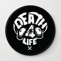 Death4life Wall Clock