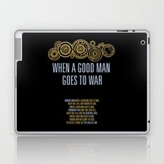 Demons Run When A Good Man Laptop & iPad Skin