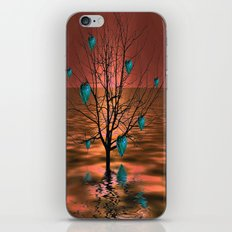 Magical Turquoise Heart … iPhone & iPod Skin