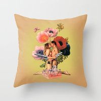 It Ends With A Bang! Throw Pillow