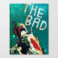 The Good, The Bad & The … Canvas Print