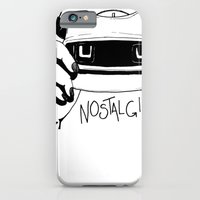iPhone & iPod Case featuring Nostalgia by KatieWaye