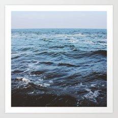 Water sea 4 Art Print