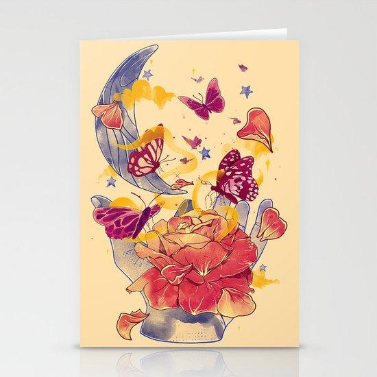Papillon Ache Stationery Card