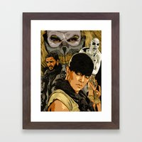 M. M. F. R. Framed Art Print
