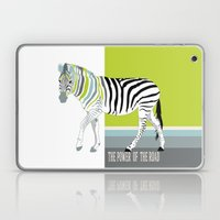 The power of the road Laptop & iPad Skin