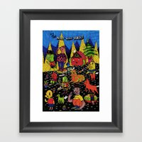 the nine nine niners Framed Art Print