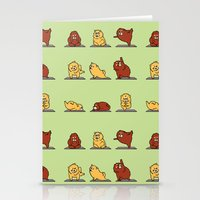 Chow Chow Yoga Stationery Cards