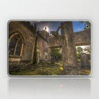 Sunset church Laptop & iPad Skin