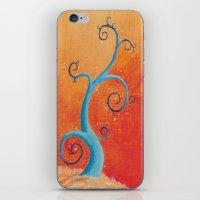 Raining Fire iPhone & iPod Skin