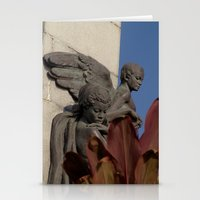 Fallen angels Stationery Cards