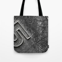 Number 5 Tote Bag