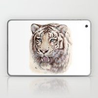 White Tiger 909 Laptop & iPad Skin