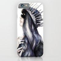 Ice Queen // Fashion Ill… iPhone 6 Slim Case