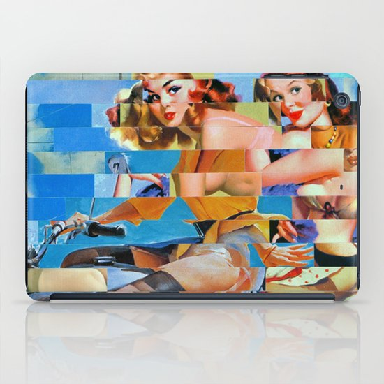 Glitch Pin-Up: Zelda & Zoe iPad Case