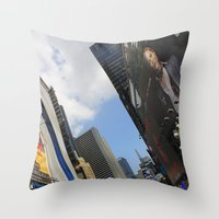 New York City Life Throw Pillow
