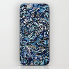 Blue iPhone & iPod Skin