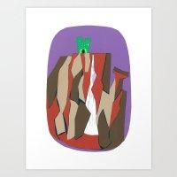 Grayskull Falls Art Print