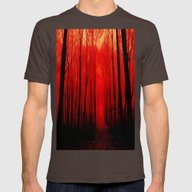 T-shirt featuring Red Forest by WhimsyRomance&Fun