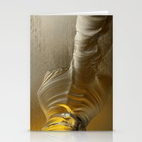 Molten Gold II Stationery Cards