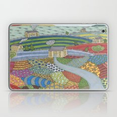 island patchwork Laptop & iPad Skin