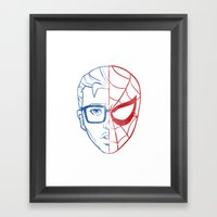 Great Responsibility Framed Art Print
