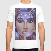 Venus  - By Ashley-Rose Standish Mens Fitted Tee White SMALL