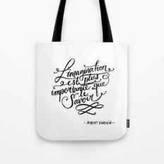 L'imagination Tote Bag