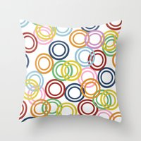 Hoopla Throw Pillow