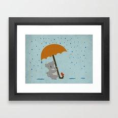Safe! Framed Art Print