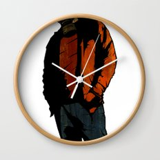 Casual Mercenary Wall Clock