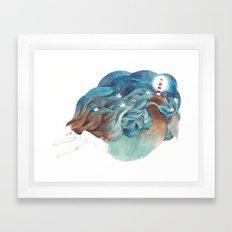 Mermaid I Framed Art Print