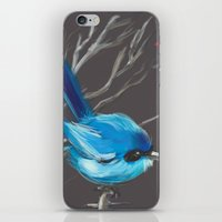 Little Blue Fairy iPhone & iPod Skin