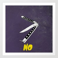 OH NO YOU DIDN'T 2 of 4 Art Print