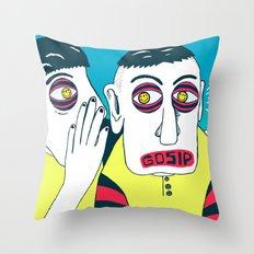 GOSIP Throw Pillow