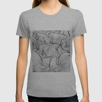 Scan 61 Womens Fitted Tee Athletic Grey SMALL