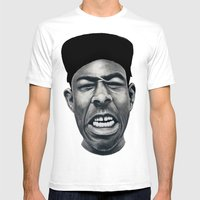 IFHY (Tyler the creator) Mens Fitted Tee White SMALL