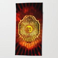 The Sun Beach Towel