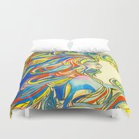 By Your Side Duvet Cover
