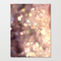 Glitters in your Heart  - JUSTART ©, digital art.    Canvas Print
