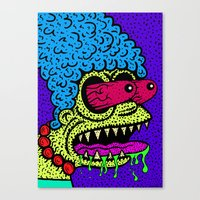 MARGE GRIMMSON.   (THE G… Canvas Print