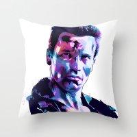 Arnold Schwarzenegger: BAD ACTORS Throw Pillow