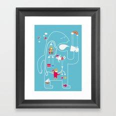 MY FAVOURITE DRINK Framed Art Print