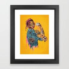 A Rosie Life Framed Art Print