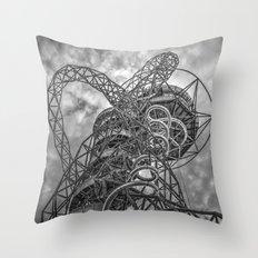 The Arcelormittal Orbit Monochrome Throw Pillow