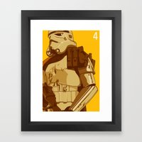 Episode 4 Framed Art Print