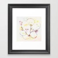 Team Owl Framed Art Print