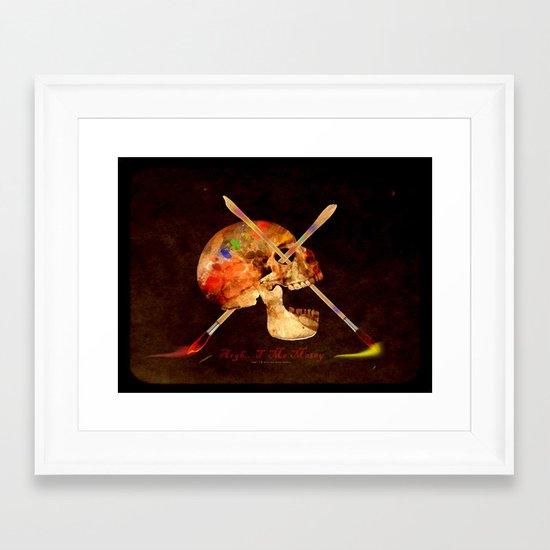 Argh…T  Me Matey 036 Framed Art Print